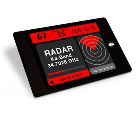 Pevný radarový detektor STINGER VIP