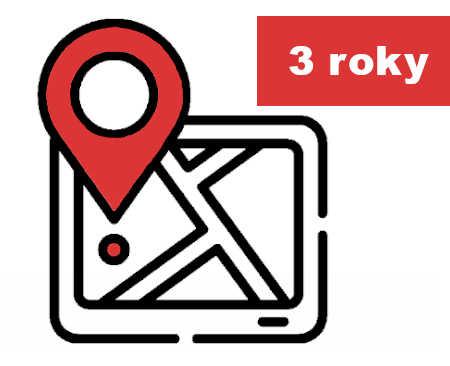 Infografika pro Update GPS databáze na 3 roky