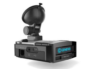 GENEVO MAX - revoluční přenosný antiradar s přísavkou na čelní sklo.