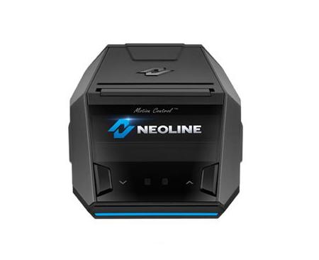 Přenosný antiradar Neoline XCOP - pohled zezadu